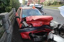 Nehoda v H. Týně.
