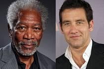 Morgan Freeman a Clive Owen