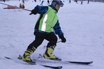 Z loňského lyžařského kurzu bělských školáků.
