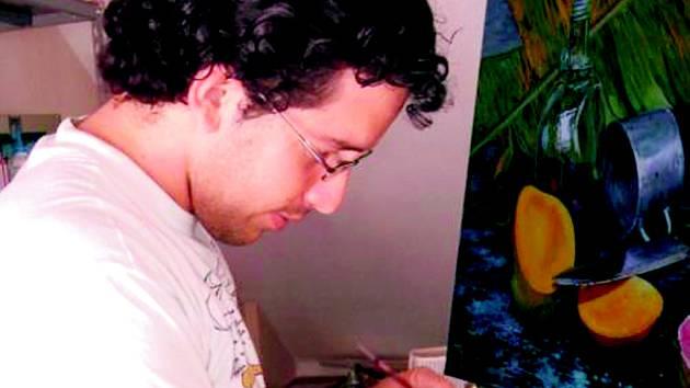 KUBÁNSKÝ VÝTVARNÍK Renier Rodriguez Mendez bude v poběžovické galerii vystavovat zřejmě od září.