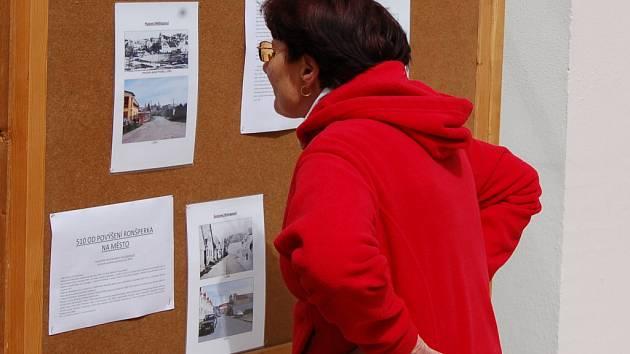 Zahájení výstavy k 510. výročí povýšení Ronšperka na město.