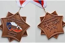 Medaile staňkovských siláků z MČR.