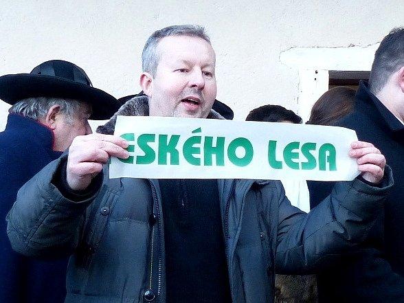 Z první návštěvy Domu přírody Českého lesa v Klenčí.