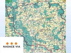 Na území našeho okresu by se našla řada míst, kde by granty Nadace Via mohly pomoci.