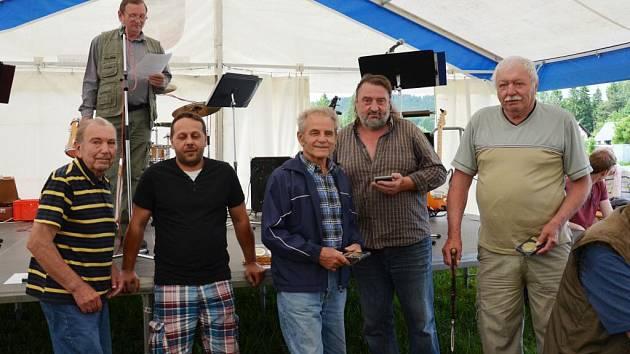 Rybářská oslava v Bělé nad Radbuzou.