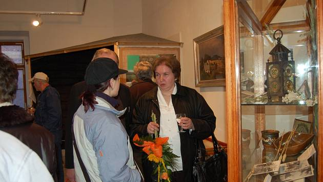 Návštěvníci Chodského hradu.