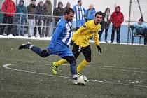 Fotbalisté Jiskry Domažlice B porazili v prvním utkání zimní přípravy FK Staňkov.