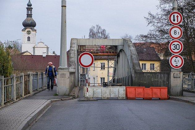 Most prošel menší rekonstrukcí už před dvěma lety.