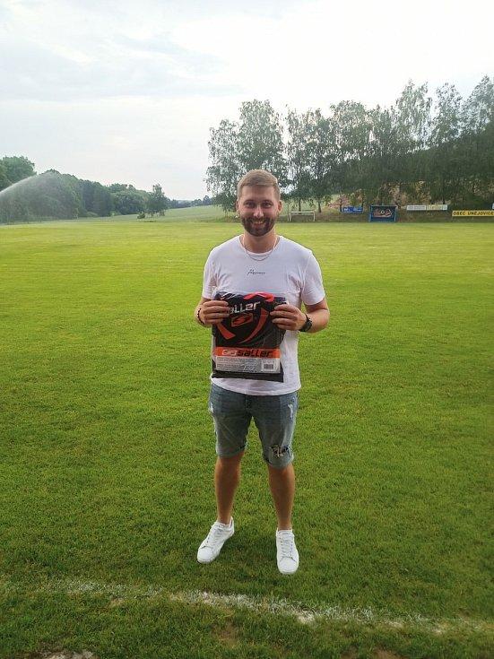 Nejlepší střelec turnaje Jan Souček.