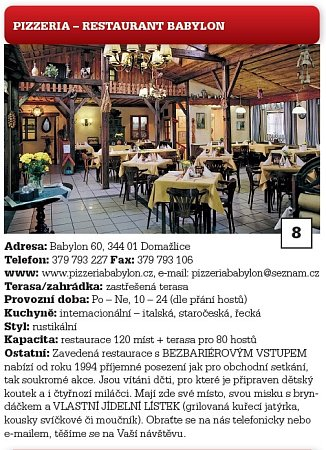 8.Pizzeria-restaurant Babylon.