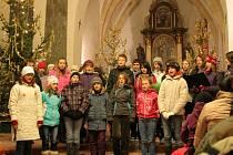 Vánoční koncert ve Staňkově.
