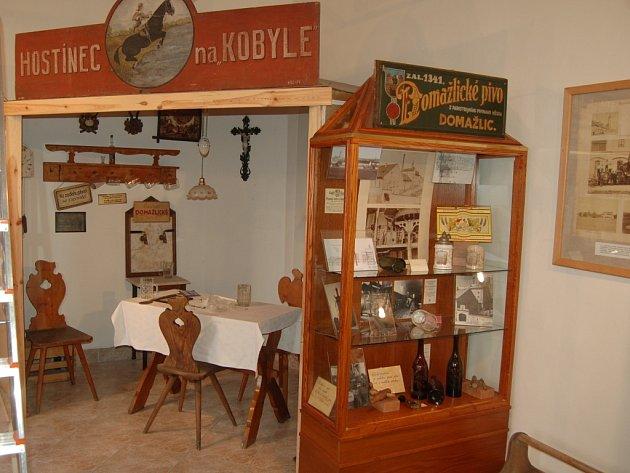 Z expozice pivovarnické výstavy v Domažlicích.