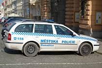 Městská policie Domažlice. Ilustrační foto.