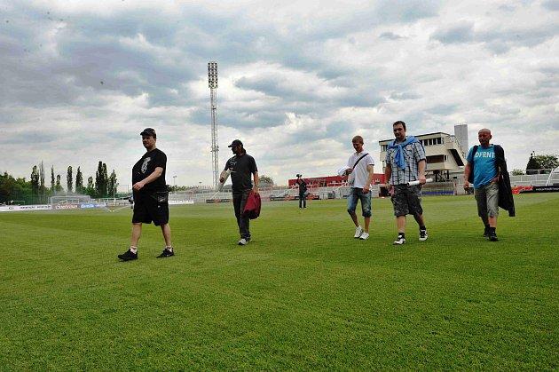 Z VIP návštěvy fotbalistů FK Staňkov C na Julisce.