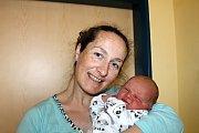 Teodor Kubec z Klenčí pod Čerchovem se narodil 26. března ve 12:48 v domažlické nemocnici s váhou 4 480 gramů a 51 centimetry.