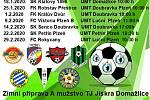 Fotbalisté třetiligové Jiskry Domažlice na prvním tréninku v roce 2020 ještě bez několika posil.