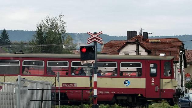 Osobní vlak. Ilustrační foto.