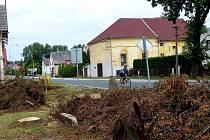 V Meclově se vichřice ´podepsala´ na stromech v aleji Franze Josefa.