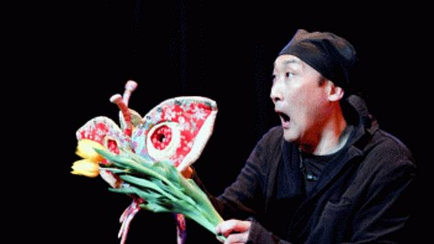 Japonský umělec Nori Sawa.