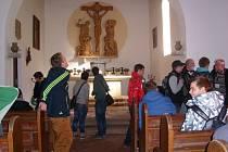 Žáci navštívili koncentrační tábor Flossenbürg.