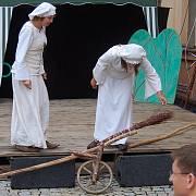 Chodské slavnosti 2010 - den druhý, sobota 14. srpna v centru Domažlic.