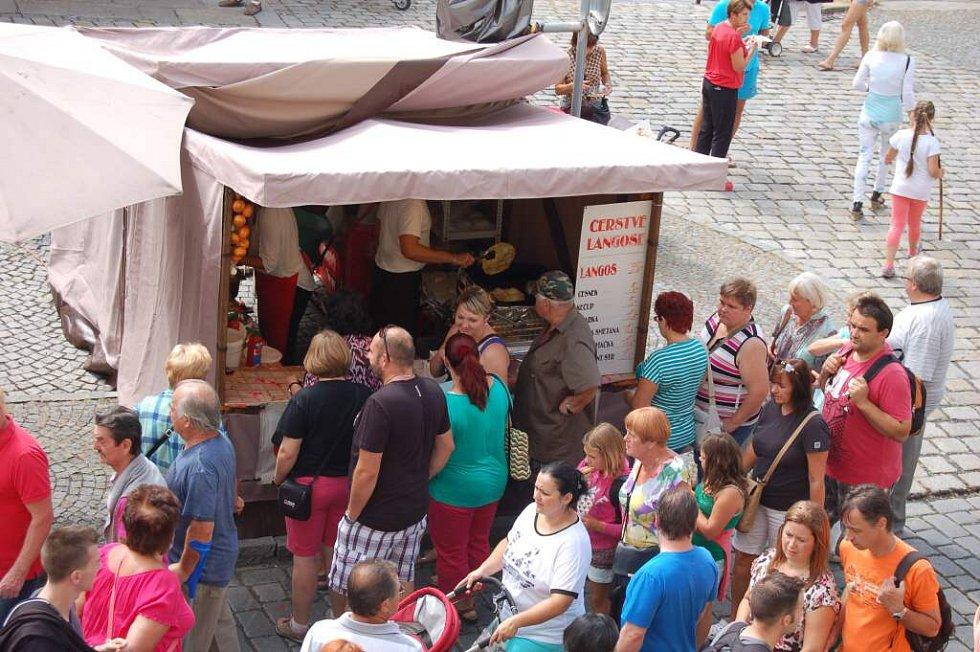 Chodské slavnosti Domažlice 2015 - den druhý
