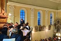 Varhanní koncert v kostele sv. Martina v Klenčí pod Čerchovem.