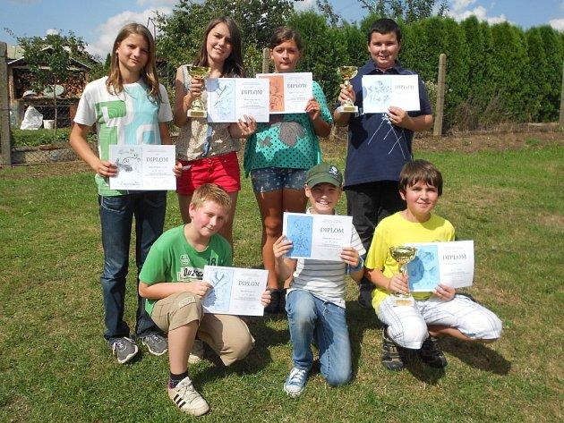 Z Domažlicka se republikového kola olympiády zúčastnilo sedm chovatelů.