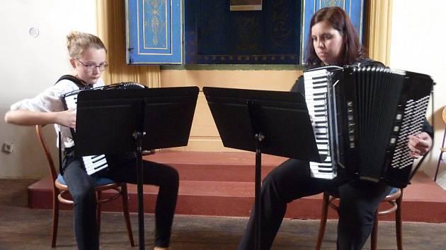 Absolventský koncert Hany Matějkové