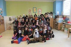 Halloweenské odpoledne v domažlické školní družině.