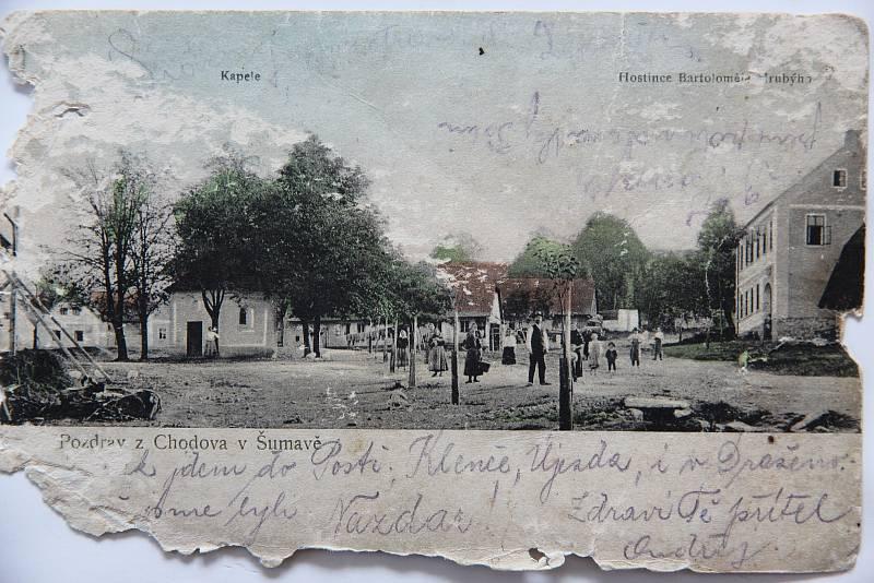 Pohlednice Chodova.