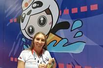 Kristina Bendová s cennými kovy z World Police & Fire Games 2019 v Číně.