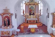 Nový hlavní oltář v maxovském kostele bude vysvěcen při nědělní pouťové mši svaté.