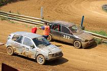Druhý závod rallycrossového seriálu Chodský čakan v Domažlicích.