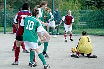 Z utkání FC Kozí doly Hříchovice.