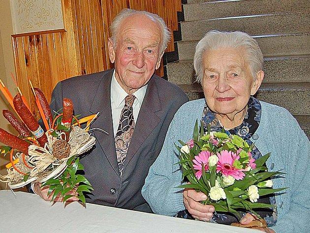 Čestmír a Miluška Brožíkovi jsou svoji už 60 let