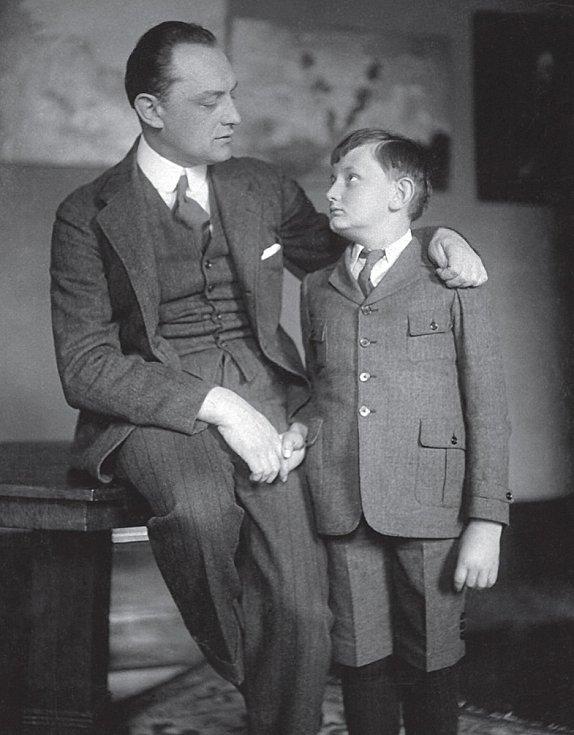 František a jeho syn Jiří Bořek-Dohalští.