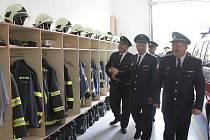 Slavnostní otevření nové hasičské zbrojnice ve Folmavě.