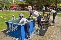 Chodská liga mladých hasičů byla zahájena závodem v Pocinovicích.
