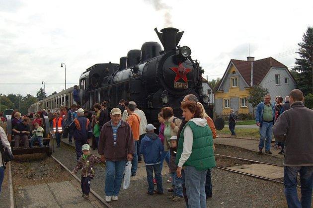 Den s železnicí v Horšovském Týně