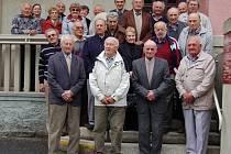 Členové domažlického klubu PTP se sešli na jubilejní schůzi.