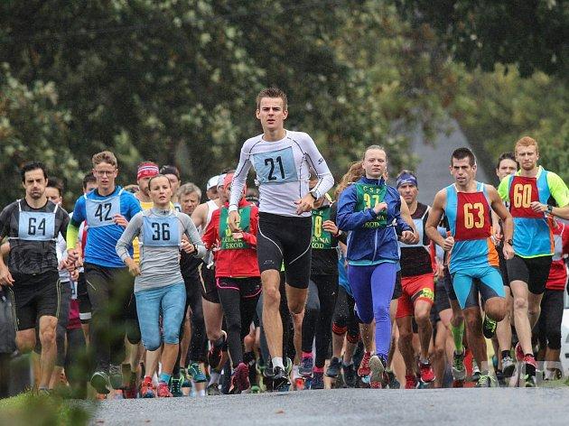 I když obličeje běžců po startu Capartického krosu nebyly příliš rozradostnělé, tak se s náročnou tratí všichni poprali se ctí.