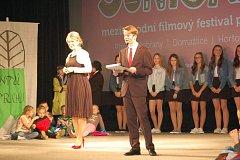 Zahájení Juniorfestu v Horšovském Týně.
