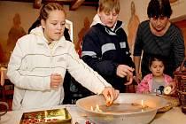 Vánoční zvyky a výstava v Puclicích.