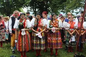 Z loňských Chodských slavností, které navštívil i kardinál Duka.