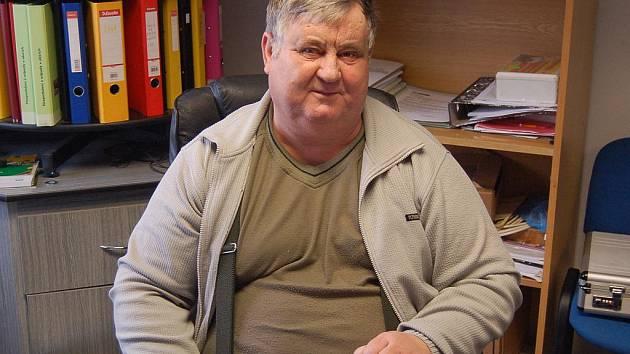 Josef Johánek, starosta obce Mnichov.