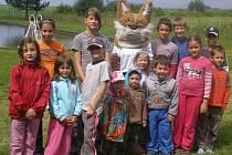 S dětmi řádila i paní Liška