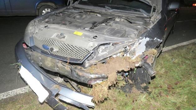 Nehoda u Staňkova.