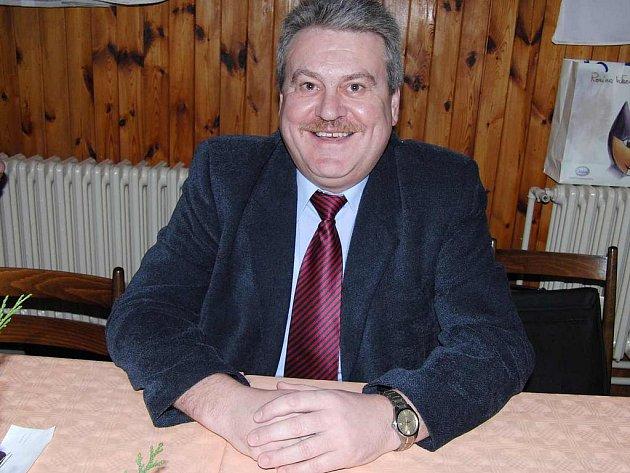 Vlastimil Anderle, starosta obce Díly.