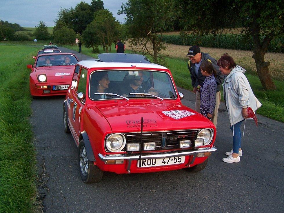 Domažlickem projížděli účastníci ADAC Bayerwald-Rallye Classic.